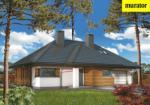 Проект одноэтажного дома с мансардой  - Муратор М107