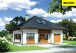 Проект одноэтажного дома с мансардой  - Муратор М144