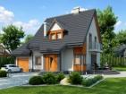 Проект удобного жилого дома с гаражом